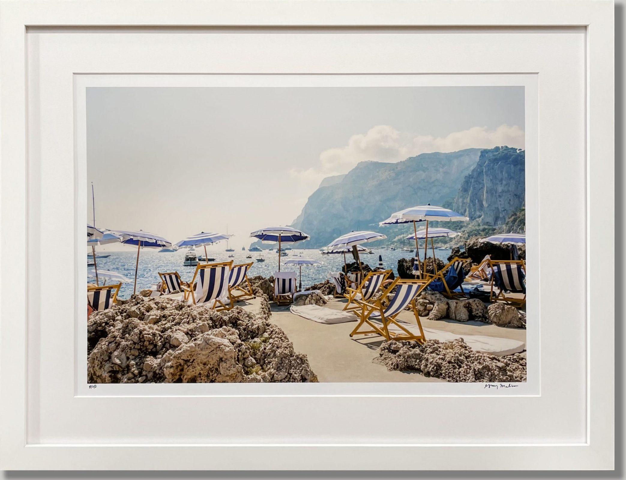 Fine Art Beach Photography White Matboard Border Matte White Frame